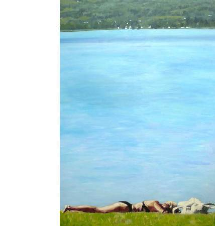 王綺穗 身體在自覺之上-安尼克I 160x110cm 2009