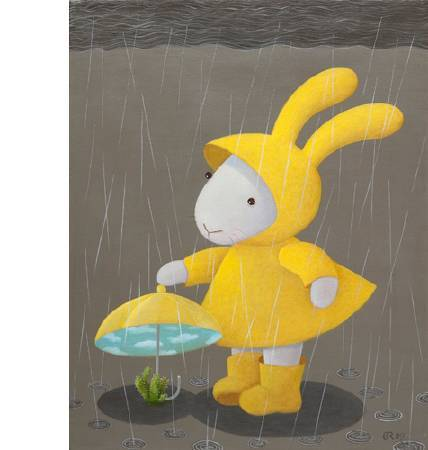 黃本蕊 Rainy Days Variation-The Cactus