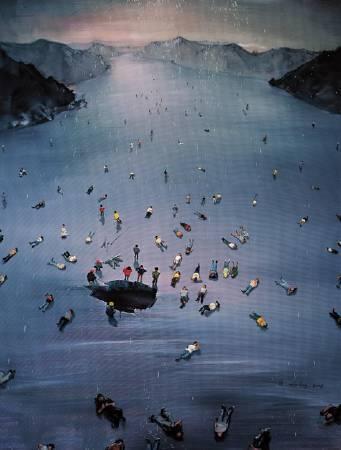周金華  黃金時代6 油彩 畫布 2008