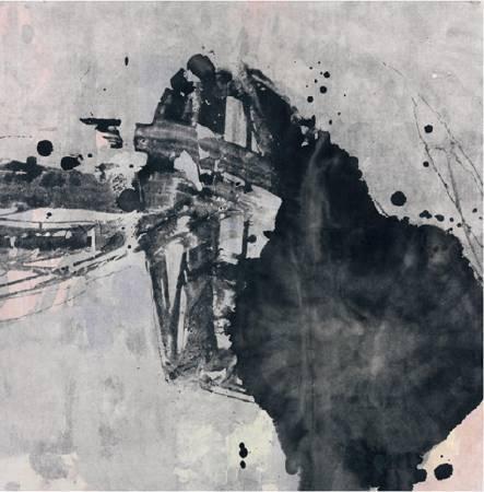萬古清風 複合媒材 90x90cm / 2009