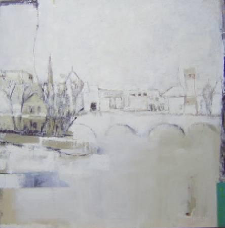 城市記憶1 油畫 2007