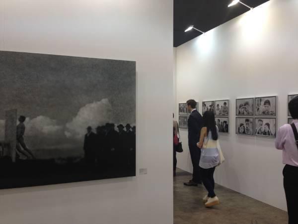 其玟畫廊香港巴塞爾藝術展展區