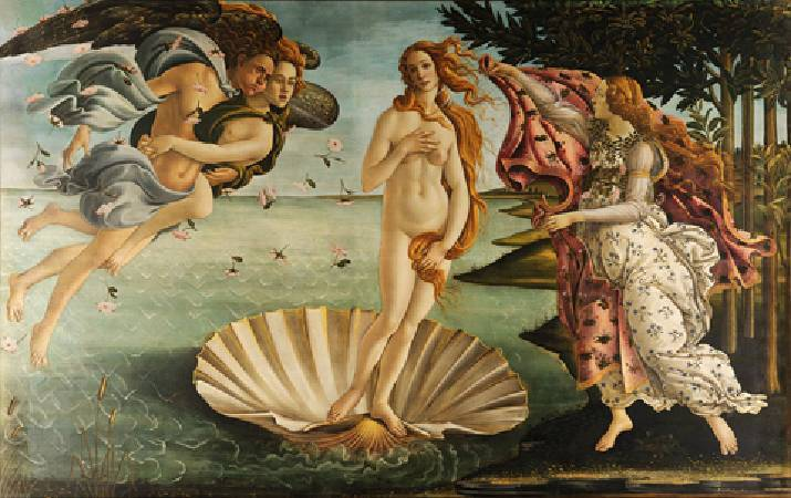 Botticelli,《The Birth of Venus》