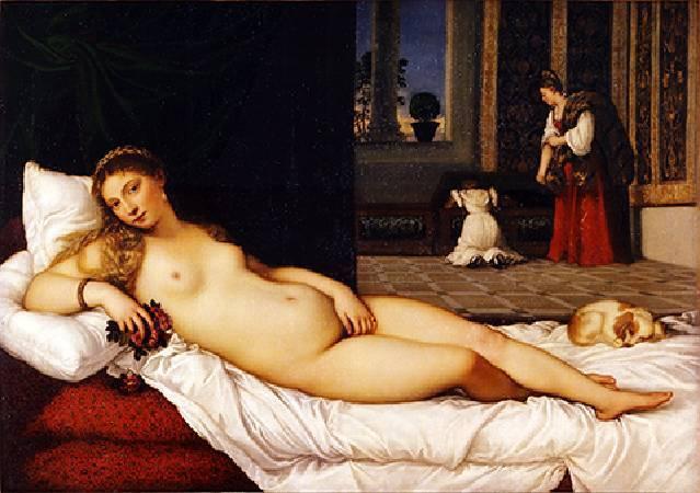 Titian,《Venus of Urbino》。