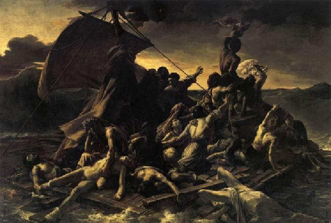 傑利柯,〈梅杜薩之筏〉。