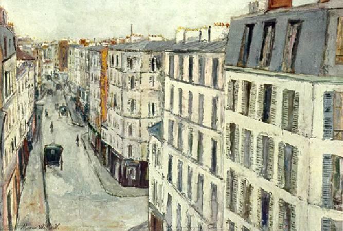 莫西斯‧尤特里羅的風景畫。