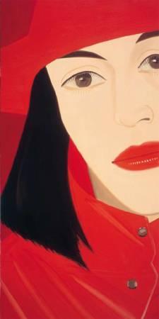 Alex Katz,《Red Coat》。
