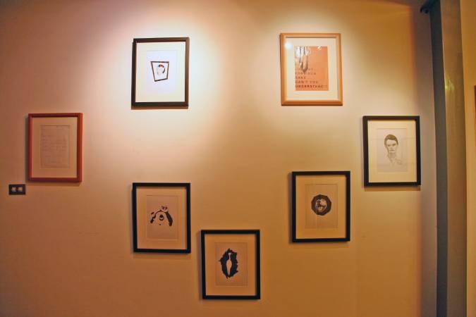 英國藝術家 Eddie Peake 圖/策展人楊凱婷提供。