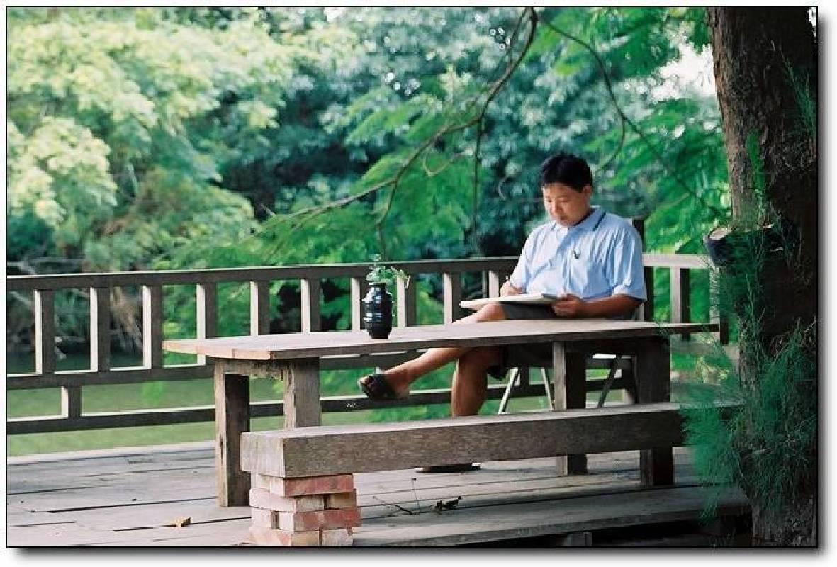 圖:藝術家洪江波,取自:敦煌藝術中心