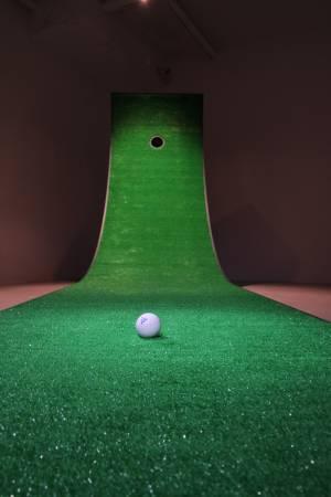 紀紐約,《浪型高爾夫》,2014。圖/紀紐約提供。