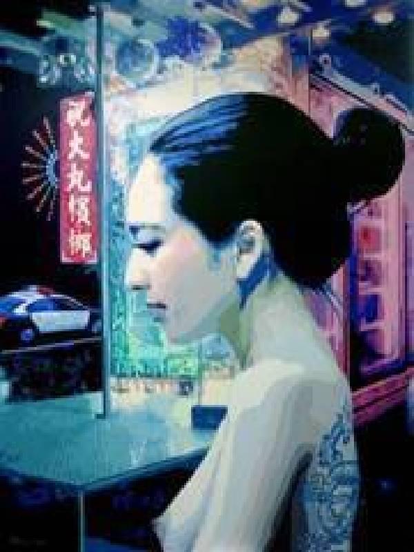 BONY(凌明棕),城市西施日記  138X101cm  2012年