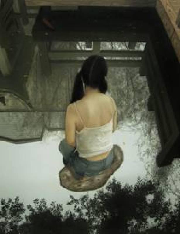 程勇,水中央170X130cm油彩畫布2010年