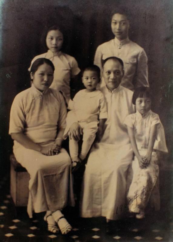 李仙根全家在香港合影