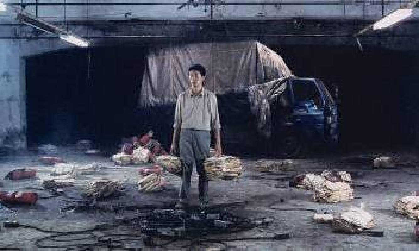 """「藝術與科技」主題區 - 藝術家陳界仁 ( 台灣 ) – 作品 """" 繼續中 """""""