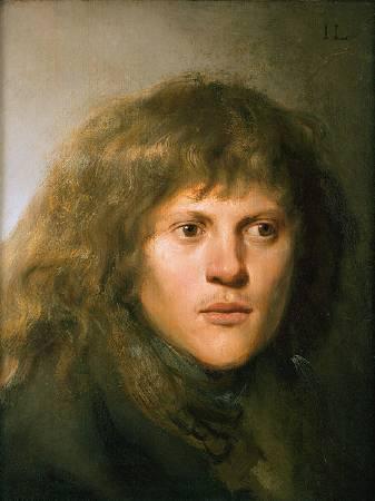 列文斯《自畫像》,1629-1630。
