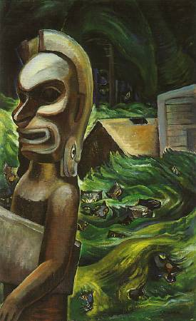 《Zunoqua of the Cat Village》。圖/擷取自The Art History Archive。