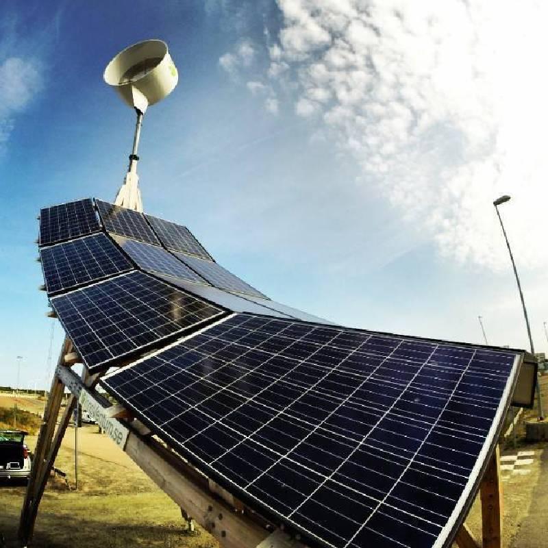 DETOUR 2014 @ PMQ 瑞典InnoVentum的太陽能車棚「長頸鹿V.II」