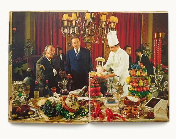 《卡拉的晚宴》內頁。圖/取自The Huffington Post。