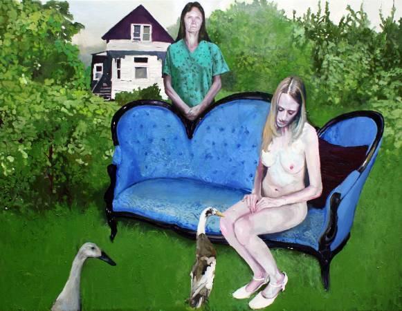 塞維.索拉,《Melancholic Bride》。圖/高雄藝術博覽會提供。