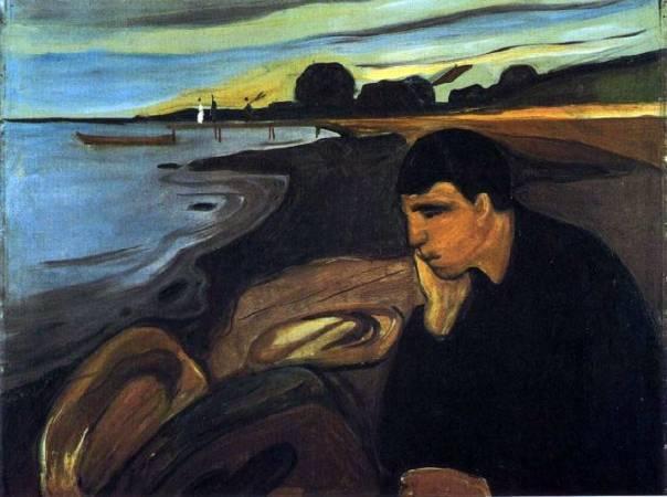 《憂鬱》(Melancholy), 1891。