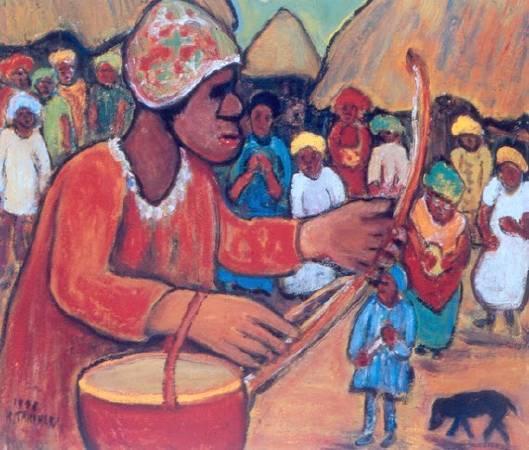 《非洲的祭典》,1978。