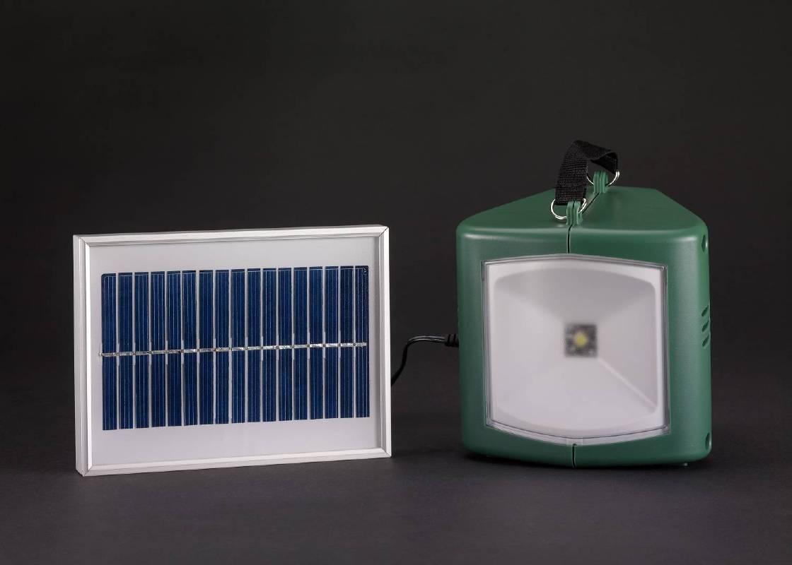 太陽能燈具與充電器