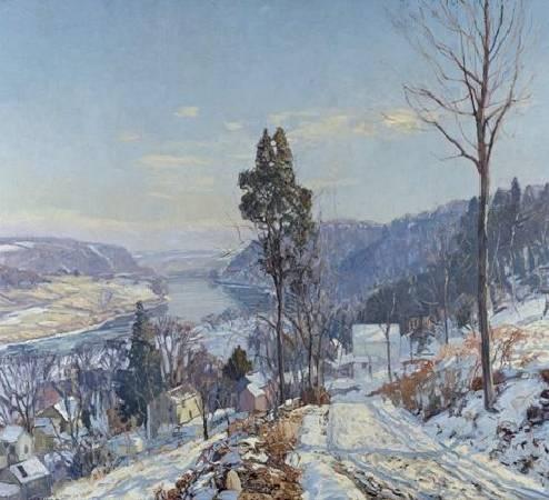 《往河邊的道路》(Road to the River) , 1920