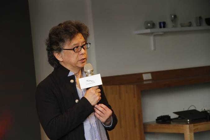 中華民國畫廊協會理事長王瑞琪。圖/非池中藝術網攝。