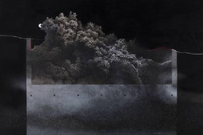 朝代畫廊,吳尚邕個展: 交織著,以某種距離