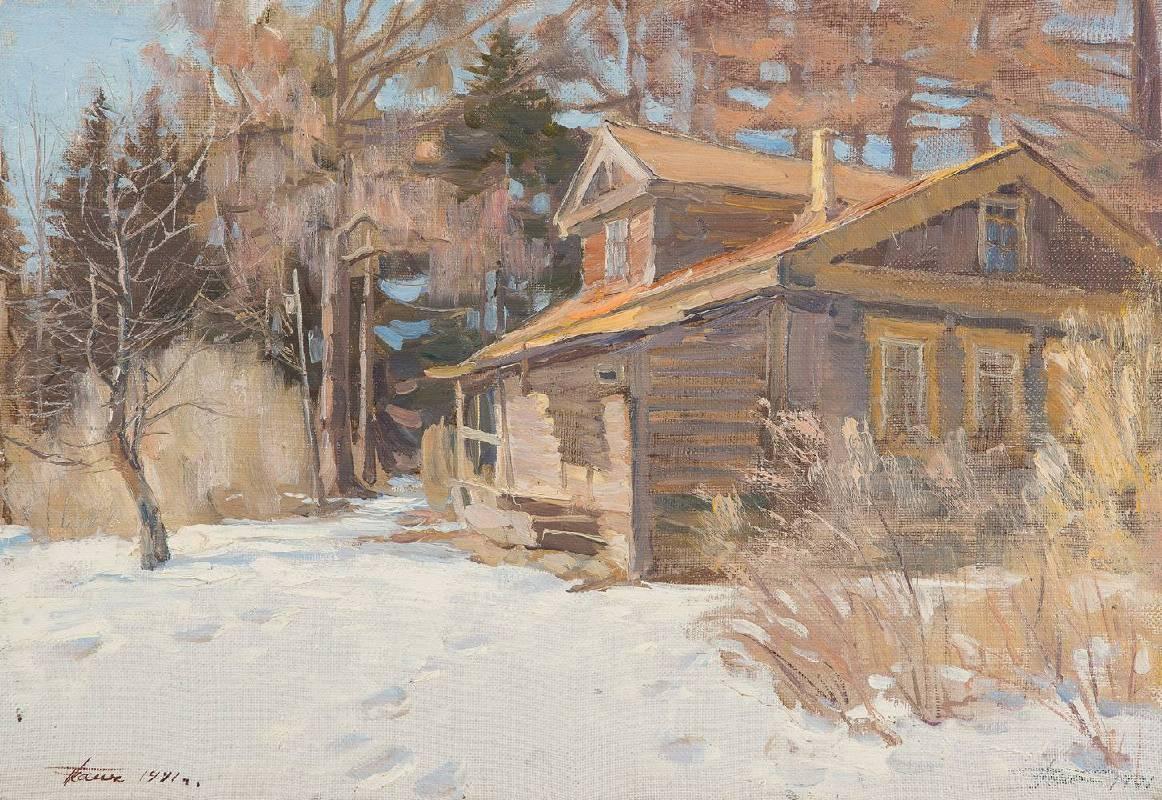 柴尼科夫•格裡高利•列昂基耶維奇,《老房子》