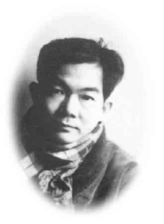 金潤作,肖像。 圖/取自稻橄的思戀台灣部落格Ⅱ
