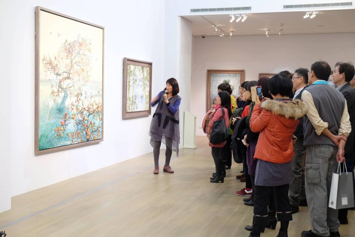 藝術家張翠容作品導覽