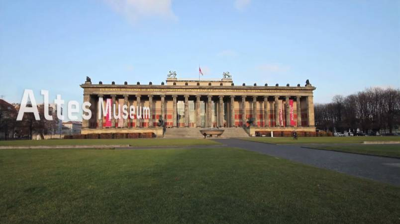 Altes Museum。圖/取自Art Project - Behind The Scenes