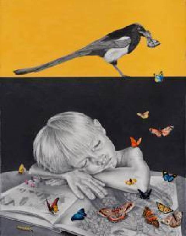 Elena Osuna-True-stories-Graphite and gouache paper-56x71cm-Vin Gallery