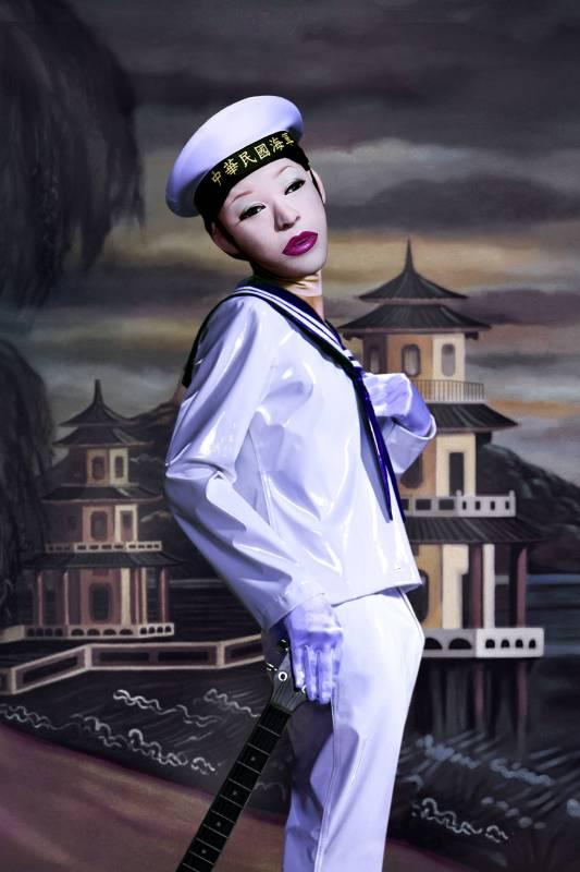 吳天章, 再見春秋閣(影像截圖), 單頻道錄像, 4'10, 台北, 2015
