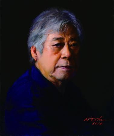陳輝東,《自畫像》,2014。圖/國立台灣美術館提供。