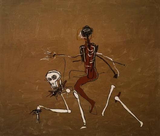 1988年,《與死亡同行》。圖/取自Wiki Art。