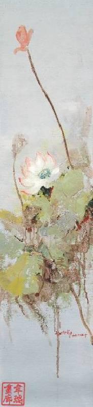 劉玉芬,《清韻2》,2014。