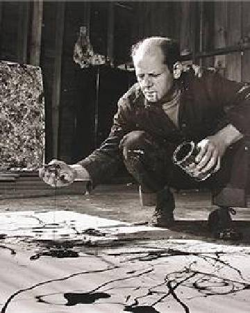 Jackson Pollock。圖/取自Wikiart