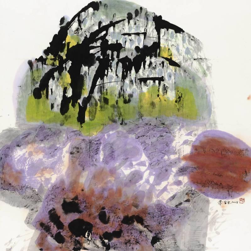 李重重,《生命的過客》,2013。