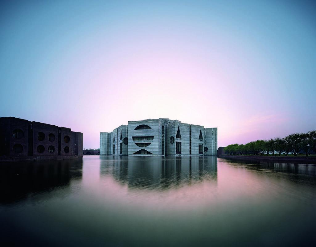 孟加拉國民議會大廈  孟加拉達卡, 1962-83  © 雷蒙.邁耶