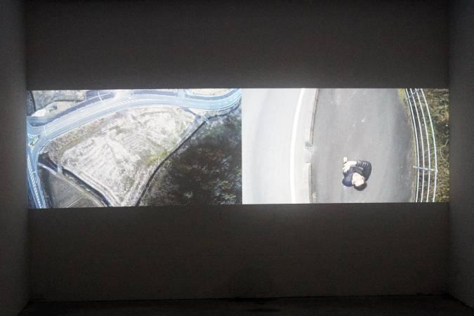 周東彥,《再見練習》。圖/非池中藝術網攝。