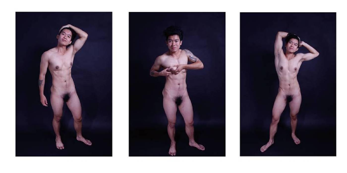 溫馨【找回身體:性別的交換日記】複合媒體、影像輸出