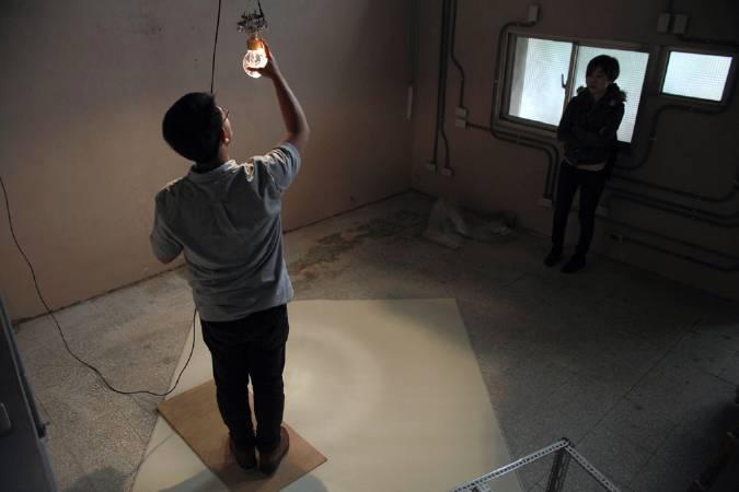 何采柔,《觀眾席》。圖/寶藏巖國際藝術村提供。