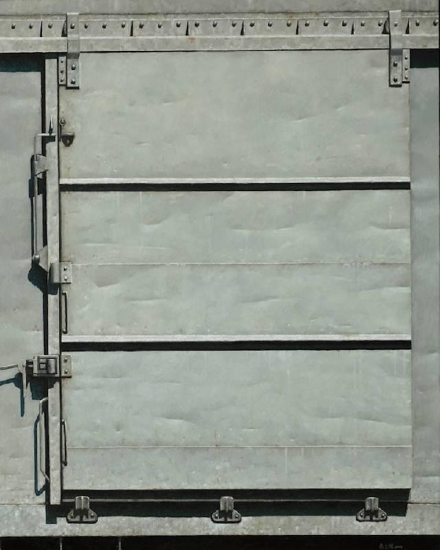 蔡孟閶 鏡子 2014 91×72.5cm 油彩 畫布