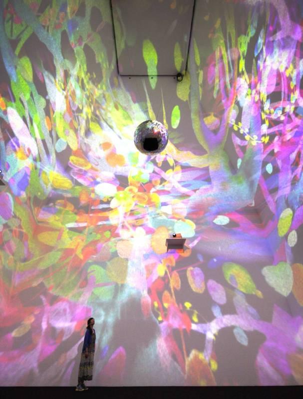 Asae SOYA_Sora宙_ dimension variable _animation, Mirrorball _2013