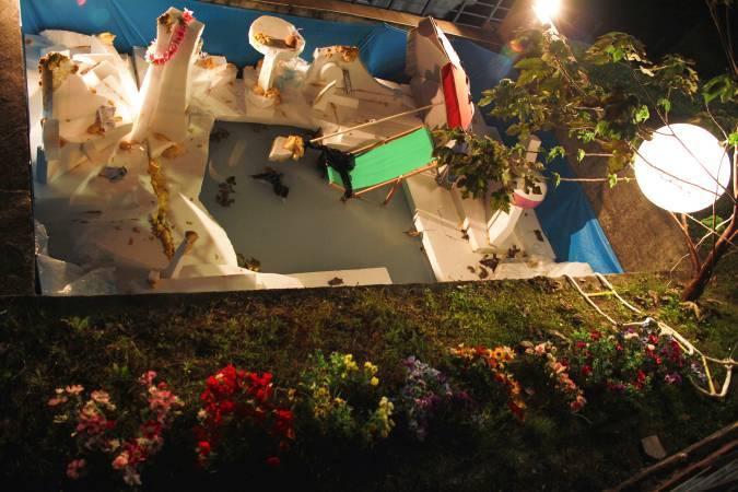 羅智信,《夏日之戀》第一階段 。圖/寶藏巖國際藝術村提供。