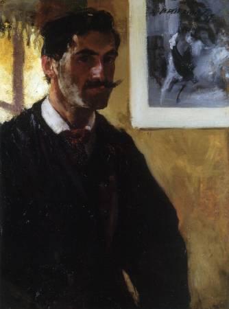 Alfred Maurer, Self-Portrait, 1897.