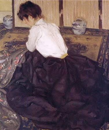 Alfred Maurer, An Arrangement, 1901.