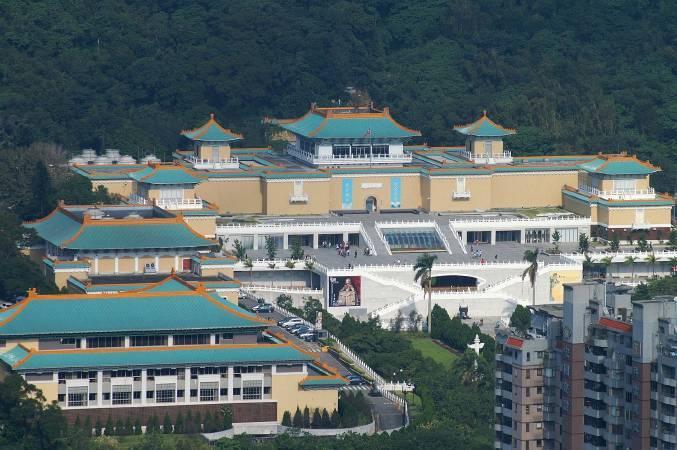 台灣故宮博物院。圖/取自Wikipedia 。